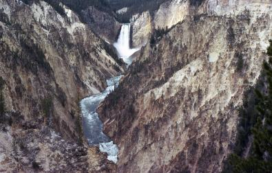 1965 Yellowstone 3 River and falls
