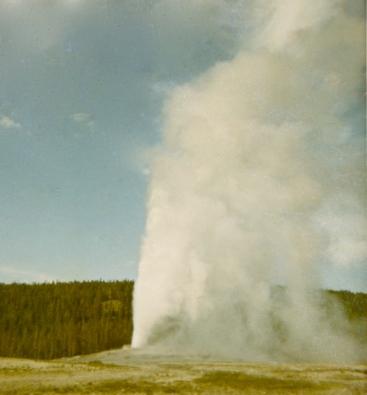 1965 Yellowstone 6 OlFaithful