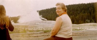 1972 Yellowstone 3Deb Mom Old Faithful