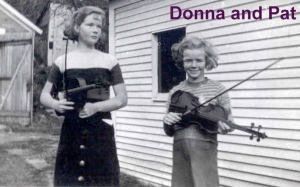 Donna and Pat fiddlers