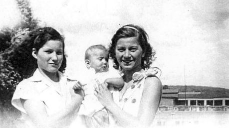 Fisher, Inez Heinz, Virginia and Gertrude Catob